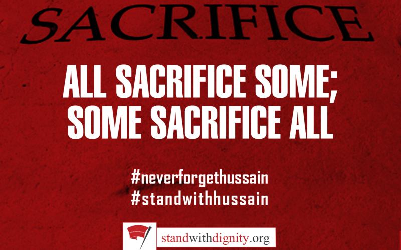 All Sacrifice some; some Sacrifice All