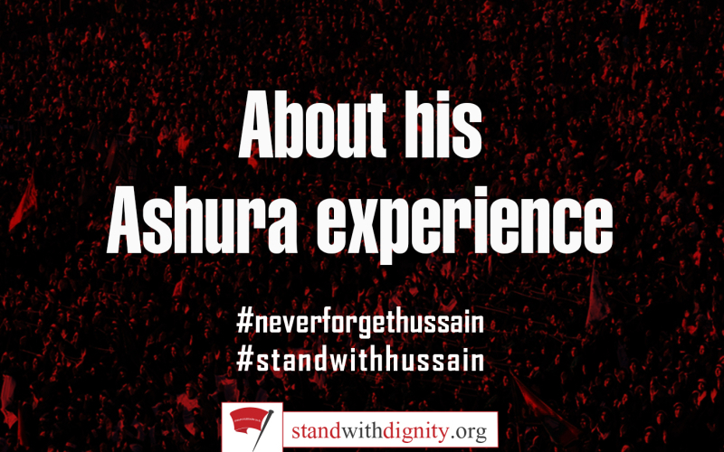About his Ashura Experience