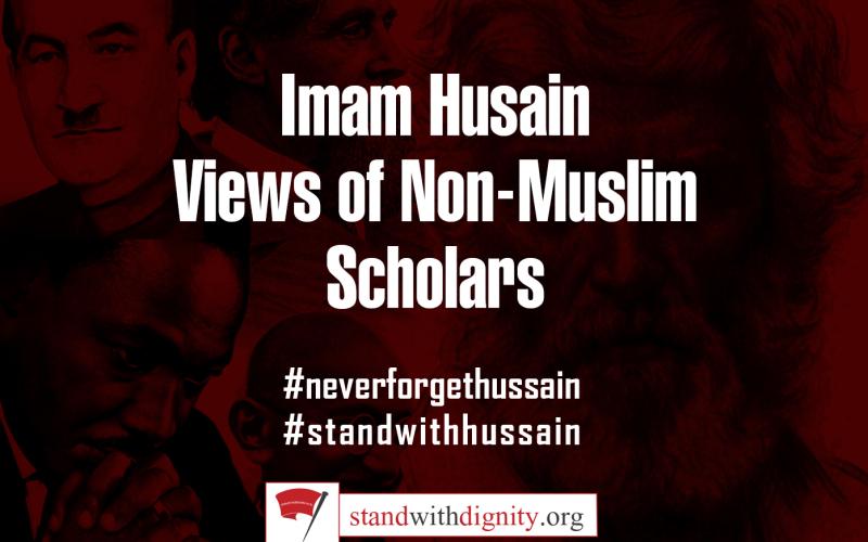 Imam Husain –  Views of Non-Muslim Scholars