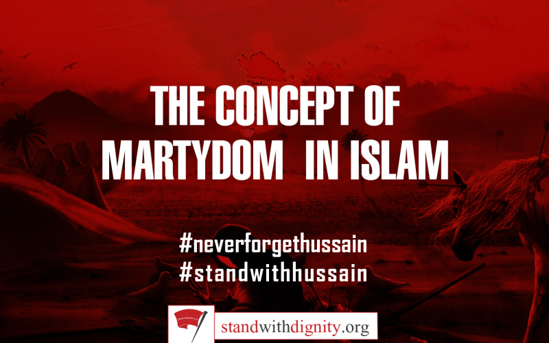 THE CONCEPT OF MARTYDOM  IN ISLAM